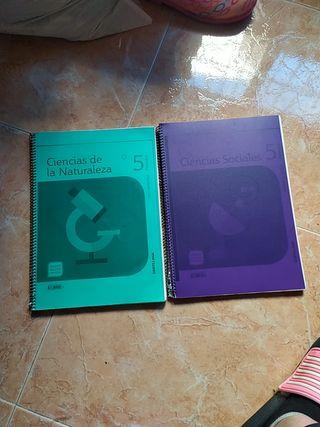 2 libros 5°