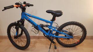 Bicleta / Bici Racing Boy 520 FS.Doble suspensión.