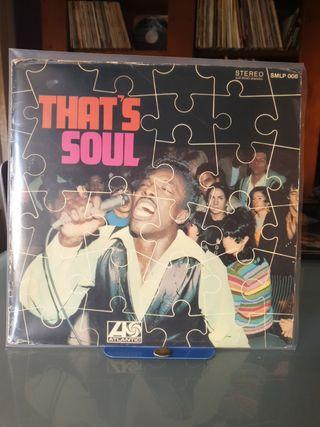 DISCO VINILO THAT'S SOUL 1967