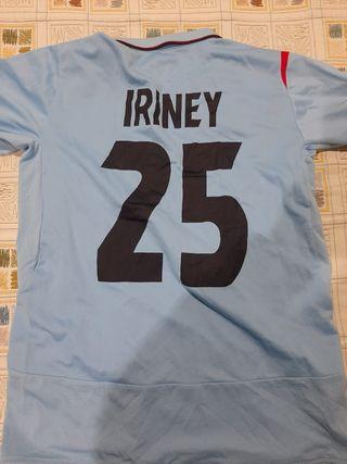 Camiseta Celta match worn Iriney