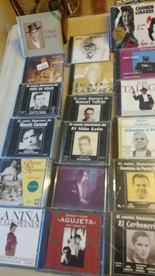 21 CD,s del mejor flamenco.Colección a estrenar