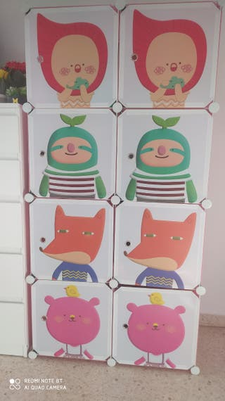 armario modular infantil