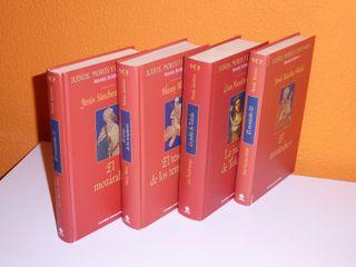 Colección Novela Histórica 4 Tomos
