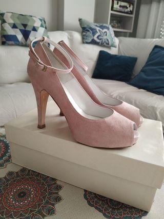 zapato tacón mujer, talla 37