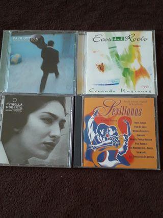 Cds Flamenco y Sevillanas