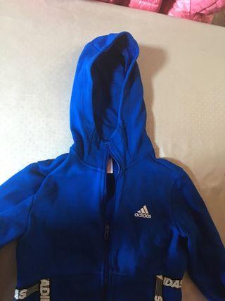 Pull adidas bleue/ Jersey azul adidas