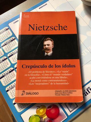 Libro Nietzsche 2º de bachillerato
