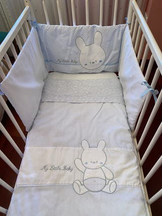 Cuna bebe blanca