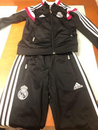 Chandal niño Real Madrid talla 7-8 años