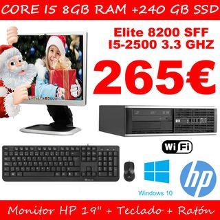 ordenador i5 con pantalla+ teclado+raton+ wifi
