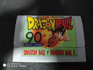 TARJETAS DRAGONBALL Y DRAGONBALL Z AÑOS 86-89