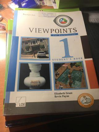 Libro de inglés 1 bachillerato VIEWPOINTS