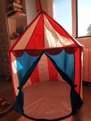 Circo infantil / Casita de tela