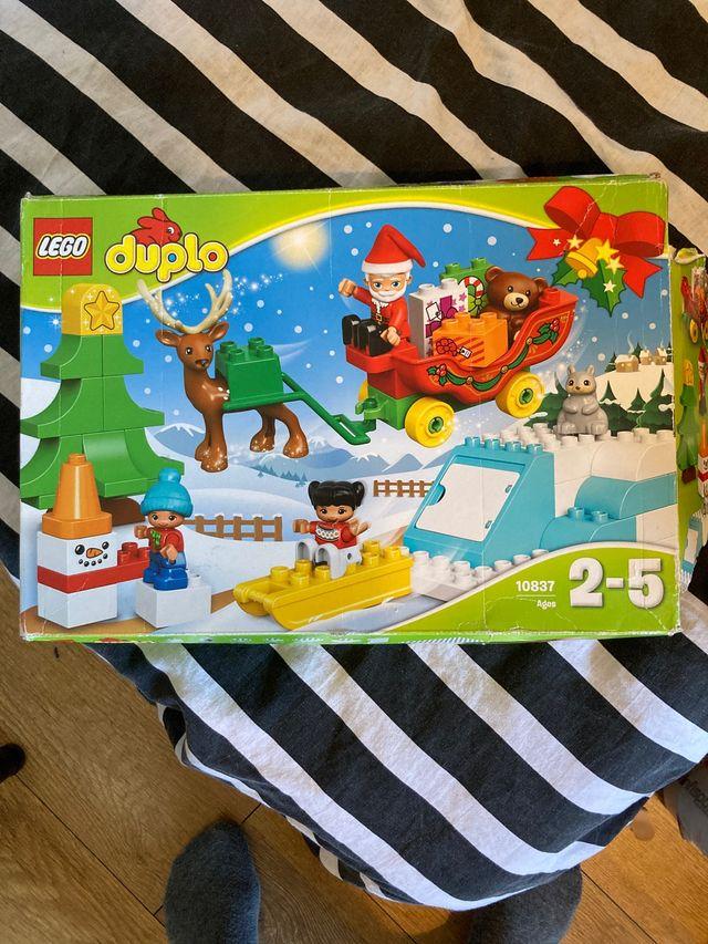 Lego Duplo Papá Noel a estrenar