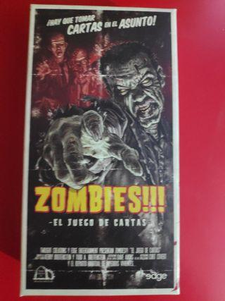 zombies el juego de cartas
