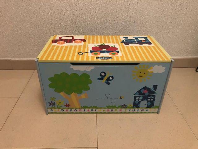 Cajón para juguetes decorativo