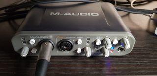 Tarjeta de sonido M-AUDIO FAST TRACK PRO