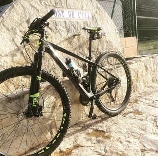 "cube reaction sl 29"" talla M ( carbono) bicicleta"