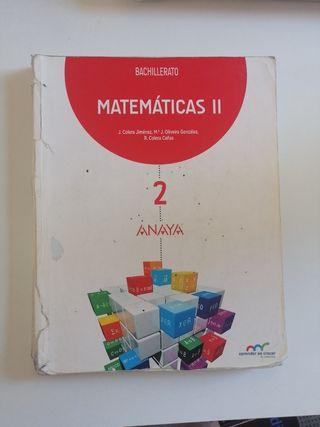 Matemáticas 2°Bachillerato