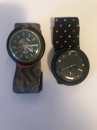 Relojes vintage Swatch pop 92