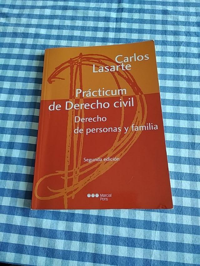 Prácticum De Derecho Civil De Personas Y Familia De Segunda Mano Por 5 En Cartagena En Wallapop