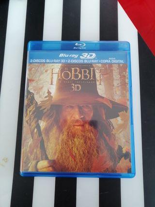 Blu-ray 3D el Hobbit