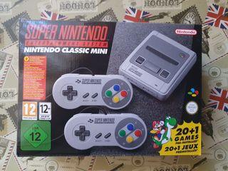 """Super Nintendo Classic Mini """" NUEVA"""""""