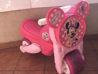 Moto feber de Minnie