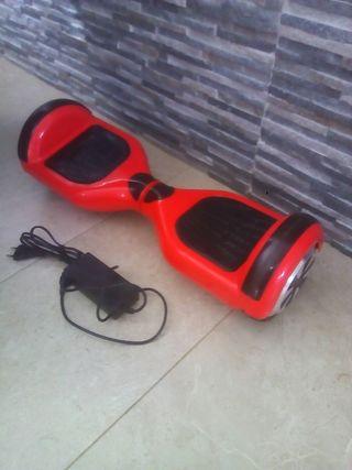 patinete hoverboard averiado