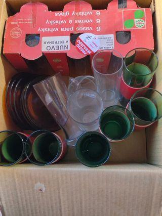 lote vasos tubo