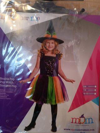 Disfraz bruja niña precioso Halloween