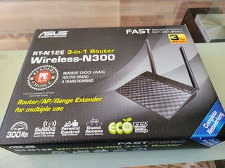 Router Asus wireless N300 RT-N12E