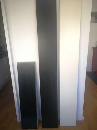 Estantes Lack Ikea. Se venden por separado también