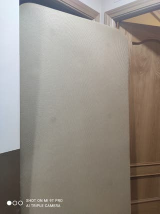Base tapizada pikolin 90x190