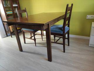 Taula vintage. Mesa mesa vintage.