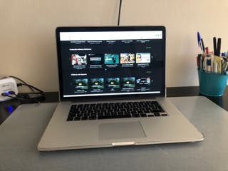 "MacBook Pro (Retina 15"") 16GB Ram 256GB Flash"