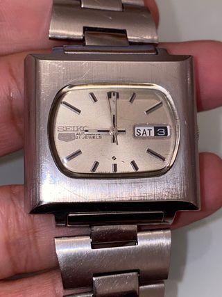 Reloj Seiko tv año 1972 hombre