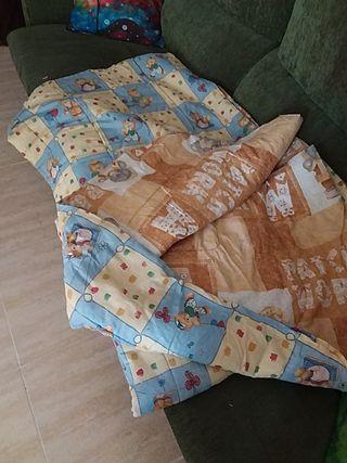 Edredon infantil cama 90Cm reversible