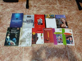 Libros de lectura de ESO y Bachillerato