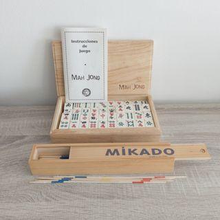 Juegos Mah Jong + Mikado
