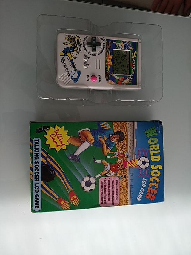 Maquinita World Soccer juego futbol