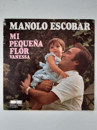 Lote singles Manolo Escobar