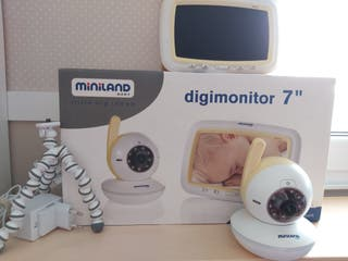 "Cámara vigila bebés Digimonitor Miniland 7"""