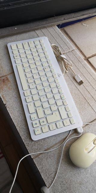 teclado y ratón Asus eee