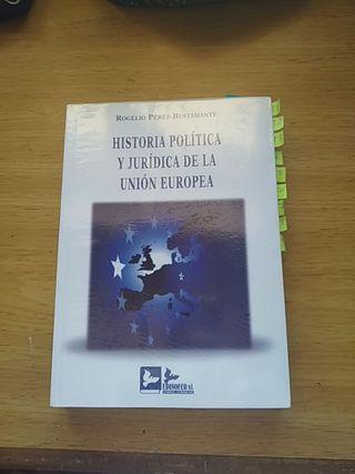 Historia política y jurídica de la Unión Europea