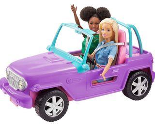 Barbie Jeep (Mattel GMT46) SIN ABRIR