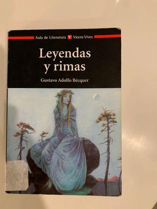 Leyendas y rimas.Gustavo Adolfo Becquer