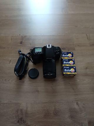 Camara Nikon Analogica F70 + objetivo 28-80