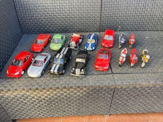 Vendo lote de coches y motos