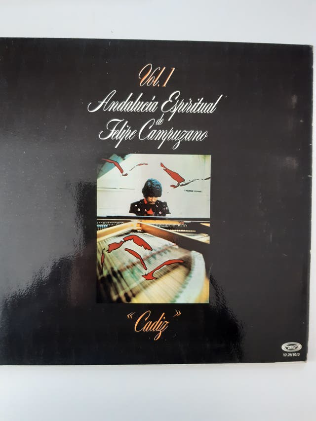 """LP """"Cádiz"""" de Felipe Campuzano"""